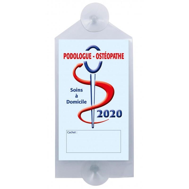 Caducée Podologue-ostéopathe avec ventouses 2020