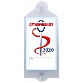 Caducée Orthophoniste avec ventouses 2020