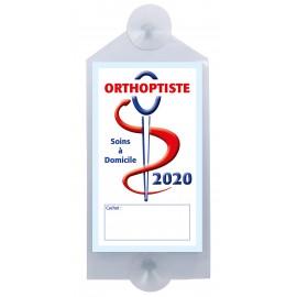 Caducée Orthoptiste avec ventouses 2020