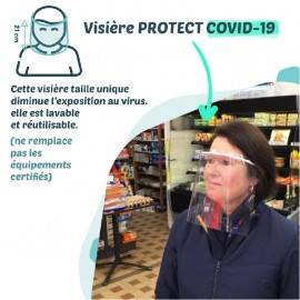 Visière PROTECT COVID-19