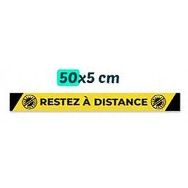 Sticker sol 0,50 cm COVID-19