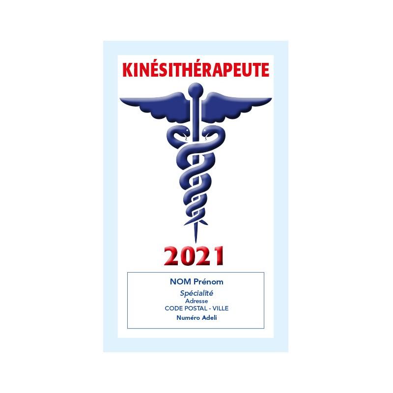 Caducée Kinésithérapeute sans soins 2021 Personnalisé