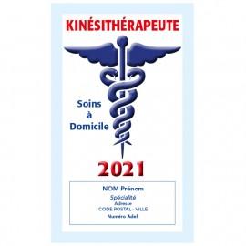 Caducée Kinésithérapeute avec soins 2021 Personnalisé