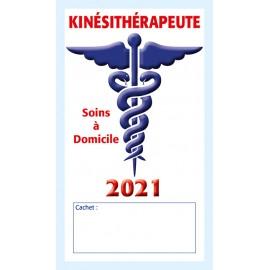 Caducée Kinésithérapeute soins 2021