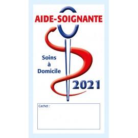 Caducée Aide-soignante soins 2021
