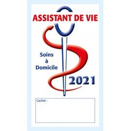 Caducée Assistant de vie soins 2021