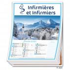 Calendrier 12 Pages Infirmière 2021 Promo