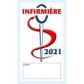 Caducée Infirmière sans soins 2021