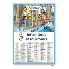 Calendrier Cartonné Humoristique