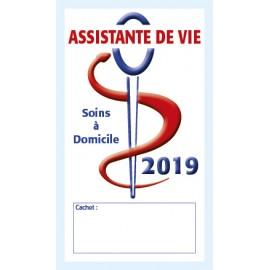 Caducée Assistante de vie 2019