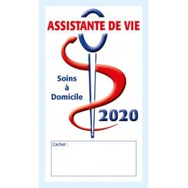 Caducée Assistante de vie 2020
