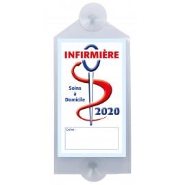 Caducée Infirmière avec ventouses 2020