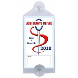 Caducée Assistante de vie avec ventouses 2020